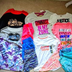 Some NWT, 15pc Bundle of Girl's 18/20 Justice